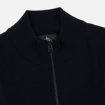 Мужская олимпийка Stone Island Shadow Project Tactical Stretch Wool Intarsia Blue фото- 1