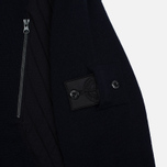 Мужская олимпийка Stone Island Shadow Project Tactical Stretch Wool Intarsia Blue фото- 3