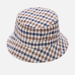 Мужская панама Aquascutum Reversible Bucket Light Beige фото- 4
