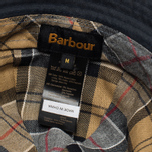 Мужская панама Barbour Wax Sports Trench Navy фото- 3
