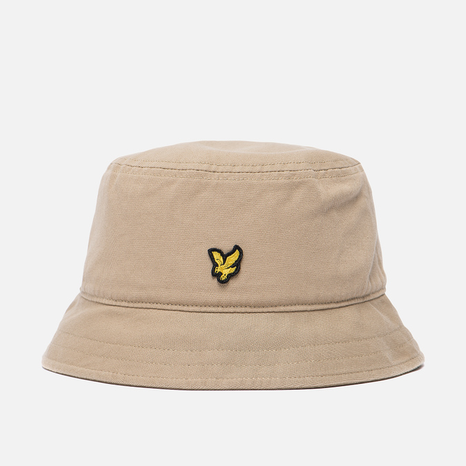 Мужская панама Lyle & Scott Cotton Twill Bucket Dark Sand