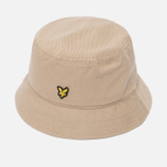 Мужская панама Lyle & Scott Cotton Twill Bucket Dark Sand фото- 1