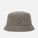 Мужская панама Lyle & Scott Cotton Twill Bucket Khaki фото- 0