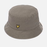 Мужская панама Lyle & Scott Cotton Twill Bucket Khaki фото- 1
