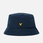 Мужская панама Lyle & Scott Cotton Twill Bucket New Navy фото- 0