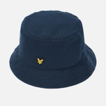 Мужская панама Lyle & Scott Cotton Twill Bucket New Navy фото- 1