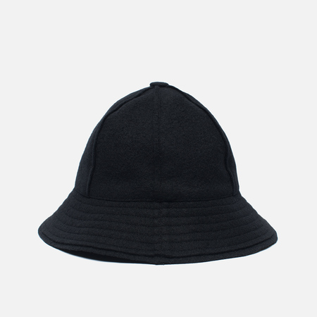 Мужская панама maharishi Raw Japanese Wool Nylon Mix Black