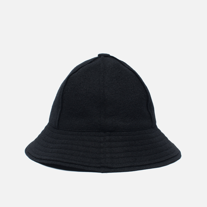 Мужская панама maharishi Raw Japanese Wool Nylon Mix Black