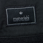 Мужская панама maharishi Raw Japanese Wool Nylon Mix Black фото- 2