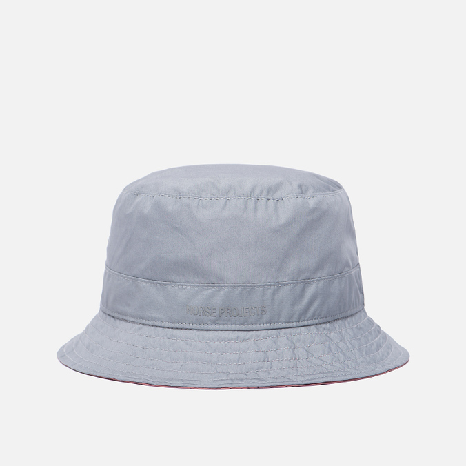 Мужская панама Norse Projects Reversible Poplin Light Grey/Fusion Pink
