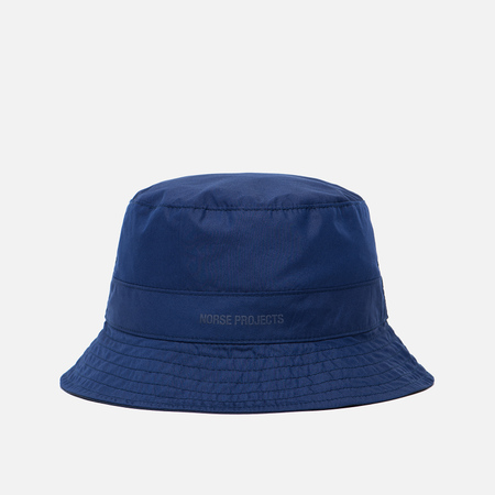 Мужская панама Norse Projects Reversible Poplin Navy/Dark Navy