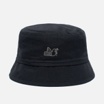 Мужская панама Peaceful Hooligan Mills Bucket Black фото- 0