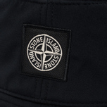 Мужская панама Stone Island Soft Shell-R Black фото- 2
