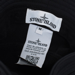 Мужская панама Stone Island Soft Shell-R Black фото- 4