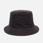 Мужская панама Universal Works Bucket British Millerain Fabric Wax Brown фото- 0