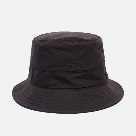 Universal Works Bucket British Millerain Fabric Wax Men's Panama Brown