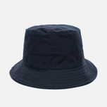 Мужская панама Universal Works Bucket British Millerain Fabric Wax Navy фото- 0