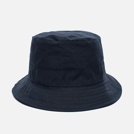 Universal Works Bucket British Millerain Fabric Wax Men's Panama Navy