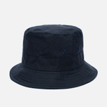 Мужская панама Universal Works Bucket British Millerain Fabric Wax Navy фото- 1