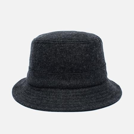 Universal Works Bucket Wool Melton Men's Panama Charcoal