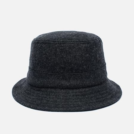 Мужская панама Universal Works Bucket Wool Melton Charcoal