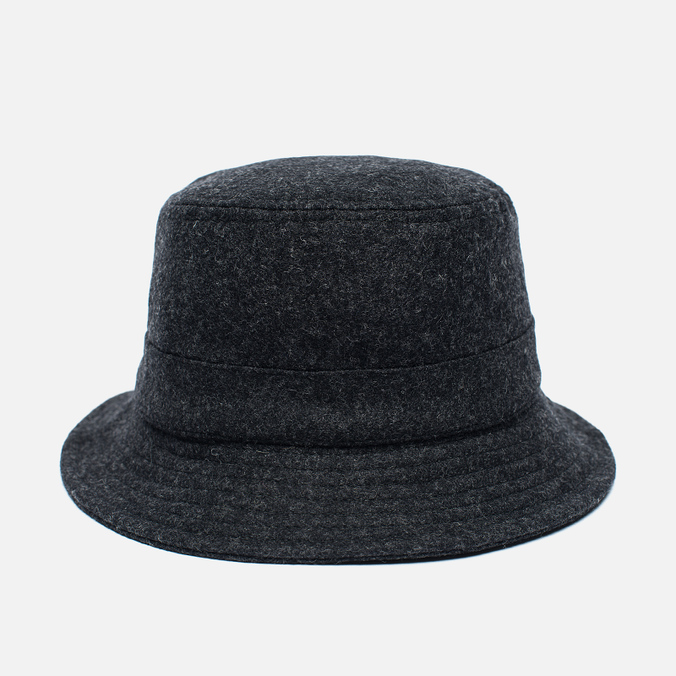 Мужская панама Universal Works Bucket Wool Melton Charcoal