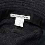 Мужская панама Universal Works Bucket Wool Melton Charcoal фото- 3