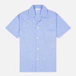 Мужская пижама Derek Rose Amalfi Cotton Batiste Blue фото- 1