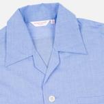 Мужская пижама Derek Rose Amalfi Cotton Batiste Blue фото- 3