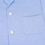 Мужская пижама Derek Rose Amalfi Cotton Batiste Blue фото- 4