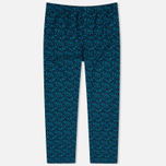 Мужская пижама Derek Rose Damask 8 EW Pyjama Set Teal фото- 3