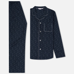 Derek Rose Dixie 4 EW Pyjama Set Navy photo- 0