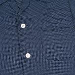 Мужская пижама Derek Rose Plaza 21 Cotton Batiste Polka Dot Navy фото- 4