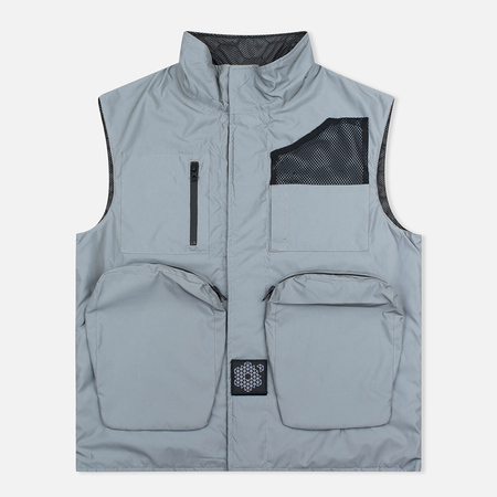 Мужская подкладка Plurimus Halo Multipocket Grey/Reflective