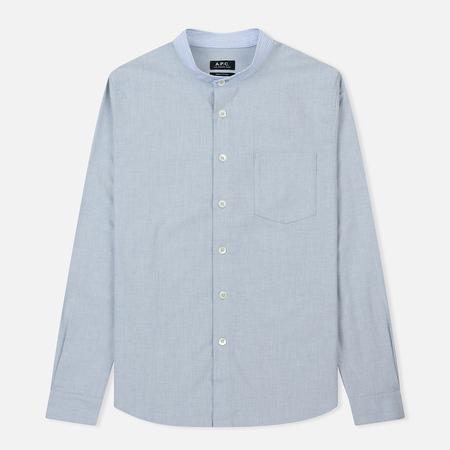 Мужская рубашка A.P.C. Alejandro Blue