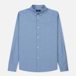 Мужская рубашка A.P.C. Button Down Blue фото- 0