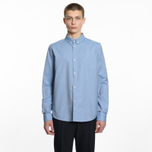 Мужская рубашка A.P.C. Button Down Blue фото- 3