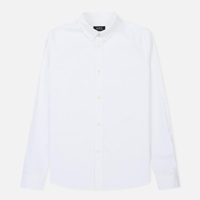 Мужская рубашка A.P.C. Button Down White