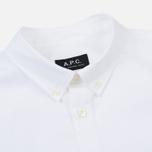 Мужская рубашка A.P.C. Button Down White фото- 1