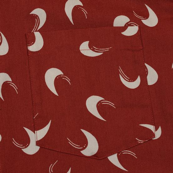 Мужская рубашка A.P.C. Cippi Dark Red