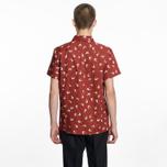 Мужская рубашка A.P.C. Cippi Dark Red фото- 4