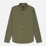 Мужская рубашка Albam Cousteau Olive фото- 0