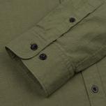 Мужская рубашка Albam Cousteau Olive фото- 3