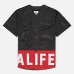 Alife Boxed Out Jersey Men's Shirt Black photo- 0