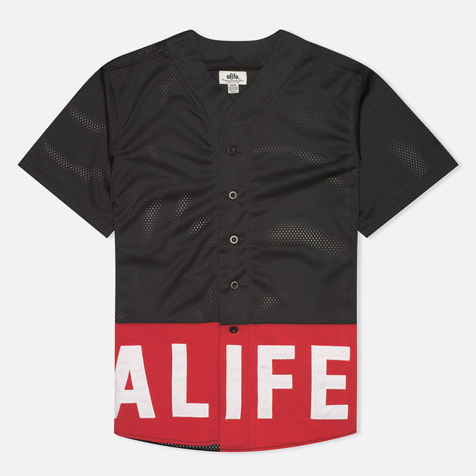 Alife Boxed Out Jersey Men's Shirt Black