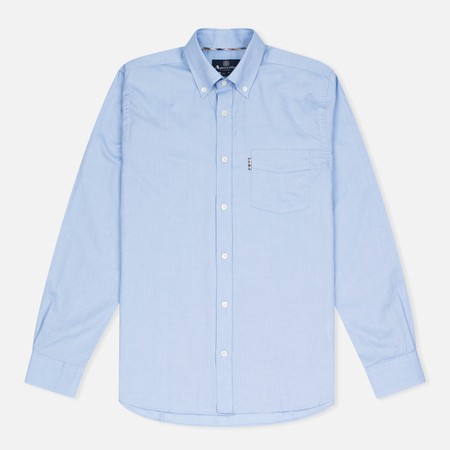 Aquascutum Ashford LS Oxford Men's Shirt Light Blue
