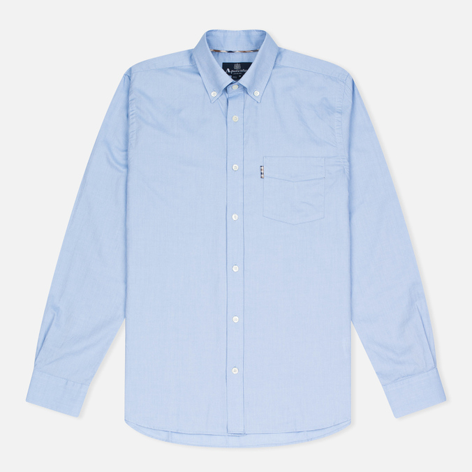 Мужская рубашка Aquascutum Ashford LS Oxford Light Blue