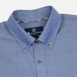 Мужская рубашка Aquascutum Ashford LS Oxford Navy фото- 1