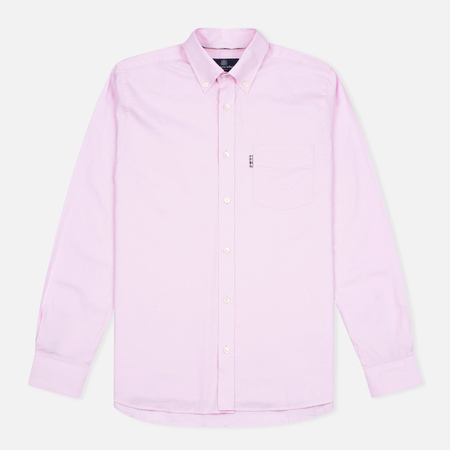 Aquascutum Ashford LS Oxford Men's Shirt Pink