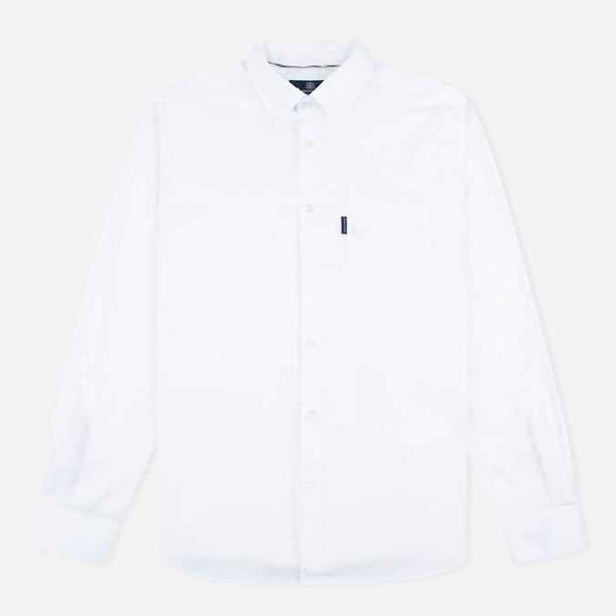 Aquascutum Ashford Oxford Men's Shirt White
